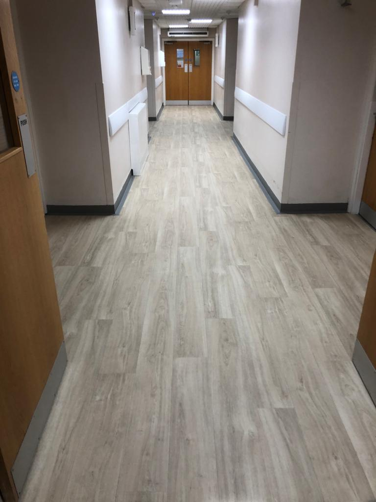 Regency Hospital New Flooring